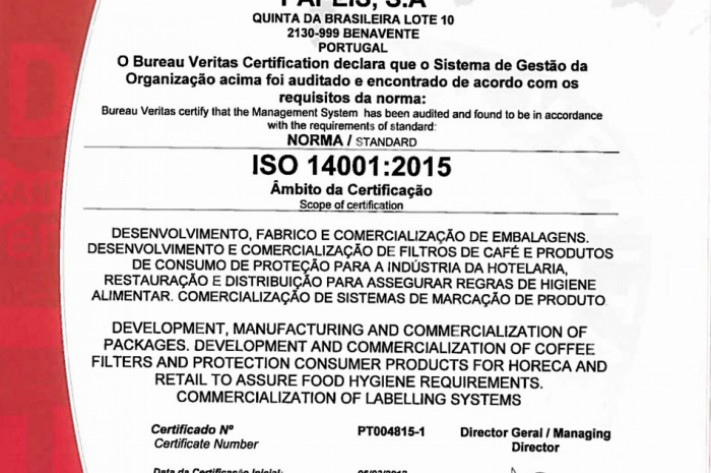 Norma ISO 14001:2015